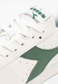 Diadora - GAME WAXED - Trainers - white/fogliage - 5