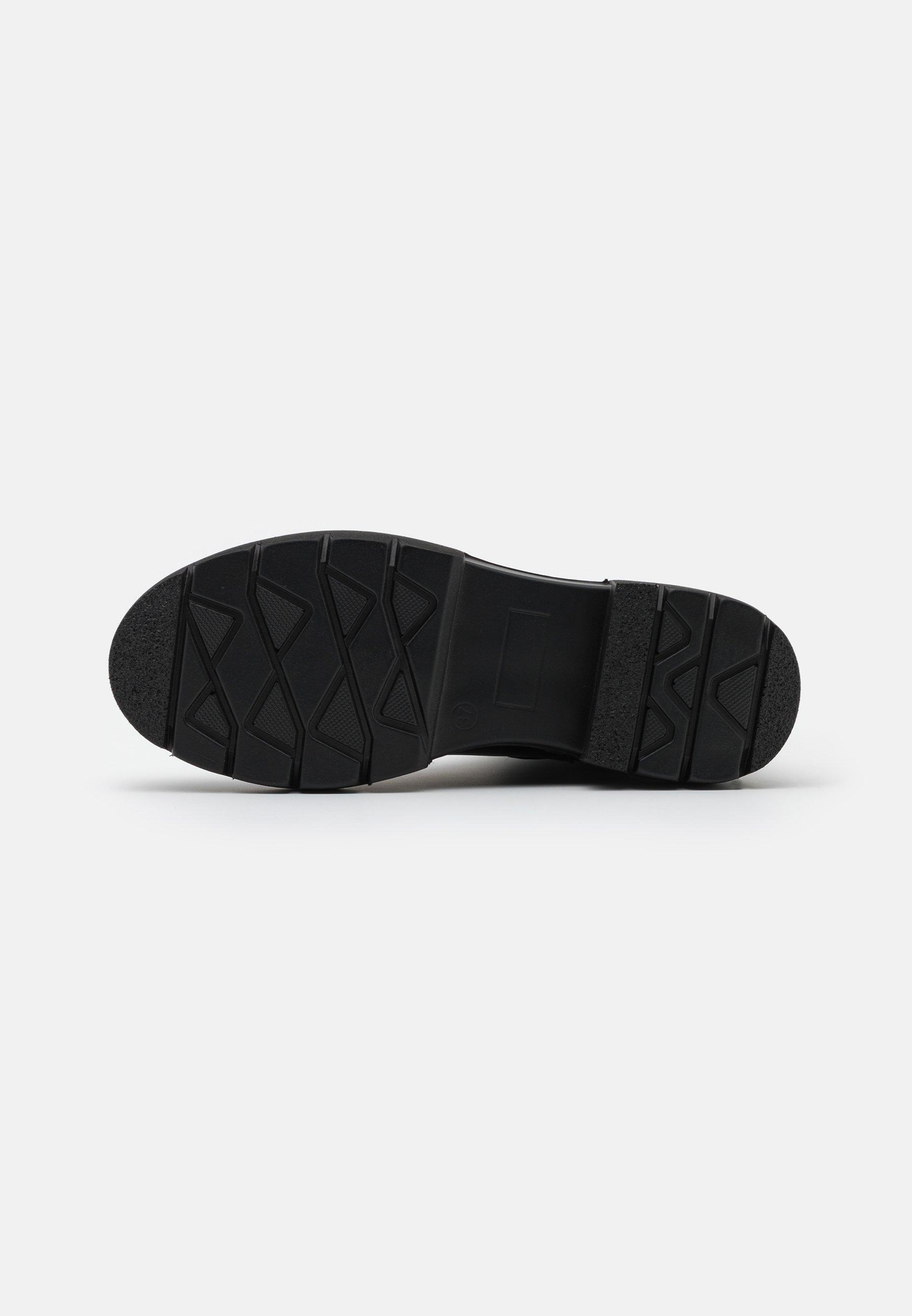KHARISMA Plateaustiefelette soft nero/schwarz