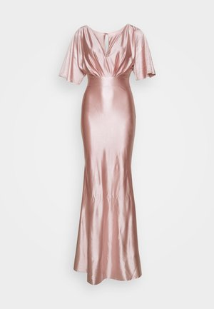 KELSEY  MAXI DRESS - Galajurk - champagne gold