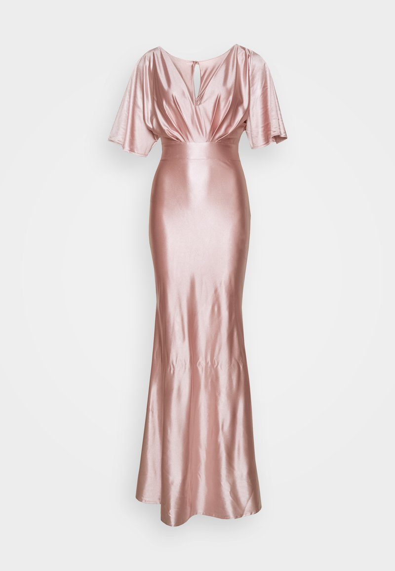 WAL G. - KELSEY  MAXI DRESS - Galajurk - champagne gold