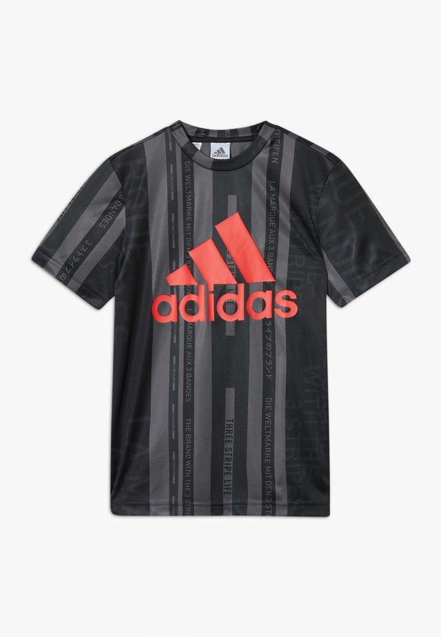 TEE - Print T-shirt - dark grey