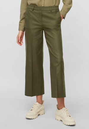 Trousers - native olive