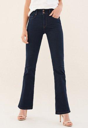 SECRET PUSH IN - Bootcut jeans - blue