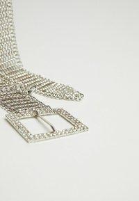 Bershka - Cintura - silver coloured - 4