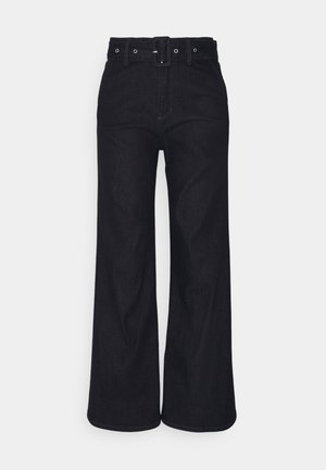 LANG - Flared Jeans - dark blue