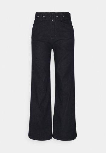 LANG - Flared Jeans - dark blue
