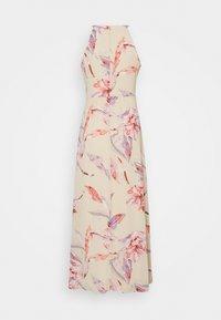 VILA PETITE - VIMILINA FLOWER MAXI DRESS - Maxi dress - birch/lana - 1