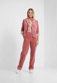 Polo Ralph Lauren - OXFORD - Button-down blouse - blush/multi - 1