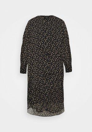 SLFSHELLY-DAMINA DRESS TAL - Denní šaty - black