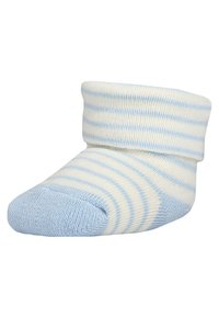 Ewers - BABYSOCKS NEWBORN WELCOME BABY 6 PACK - Sokken - hellblau - 1