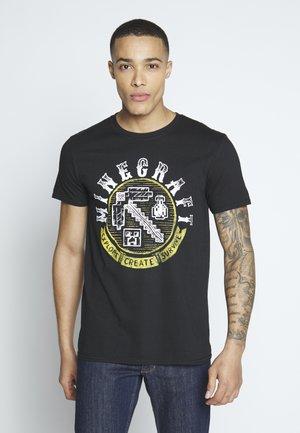 MINECRAFT - Print T-shirt - black