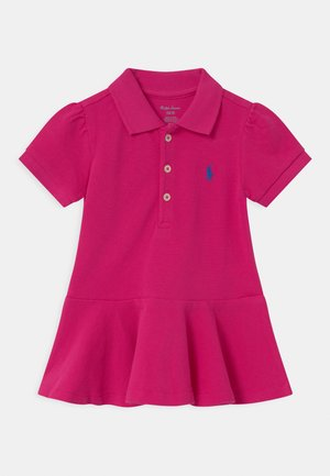 Polo shirt - accent pink