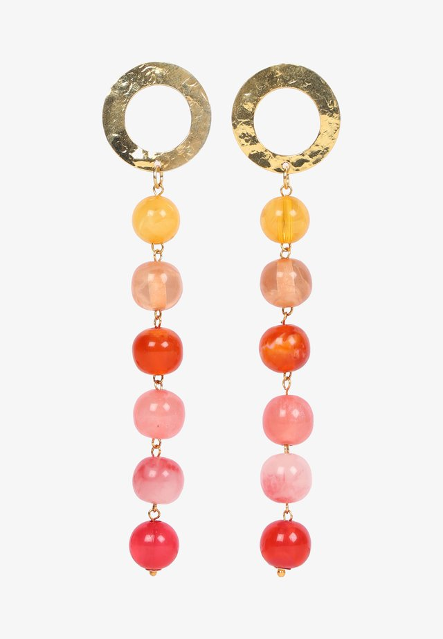 BEAD  - Earrings - mandarine