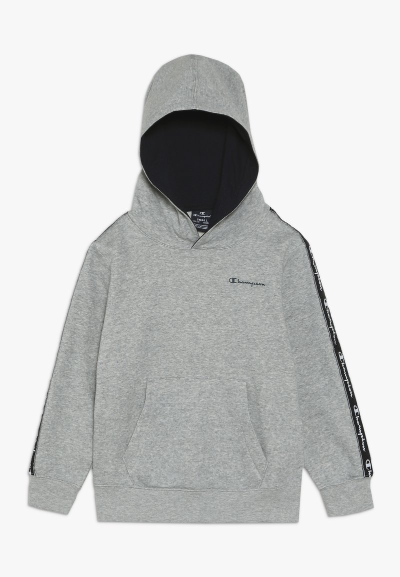 Champion - AMERICAN CLASSICS PIPING HOODED  - Hoodie - mottled grey