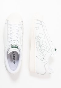 adidas Originals - SUPERSTAR PURE - Trainers - footwear white/core white - 3