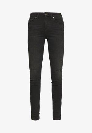 ONLBLUSH MID SKINNY - Jeans Skinny Fit - black