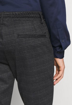 EBERLEIN WITH ROLLED UP - Trousers - macan grey