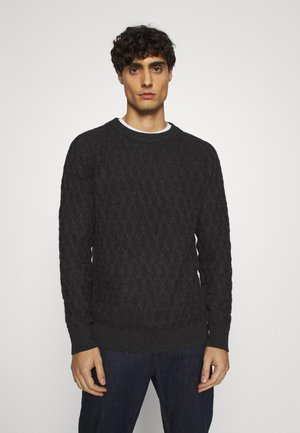 SLHRICHARD CABLE - Pullover - anthracite