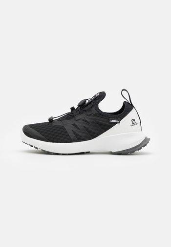 SENSE FLOW CSWP UNISEX - Hiking shoes - black/white/quiet shade