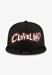 New Era - NBA20 CITY OFF 9FIFTY SNAPBACK CLEVELAND CAVALIERS - Cap - schwarz - 0