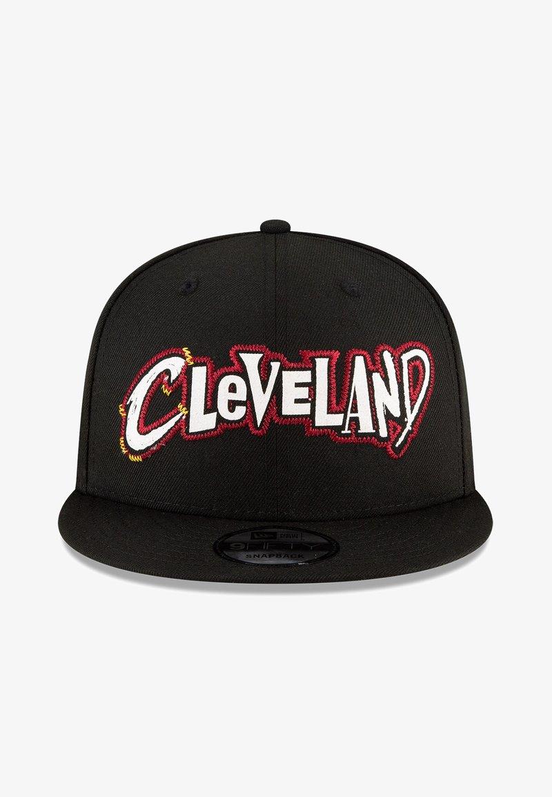 New Era - NBA20 CITY OFF 9FIFTY SNAPBACK CLEVELAND CAVALIERS - Cap - schwarz