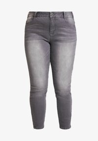 Ciso - PANT HEAVY WASHED - Jeans Skinny Fit - denim grey - 3