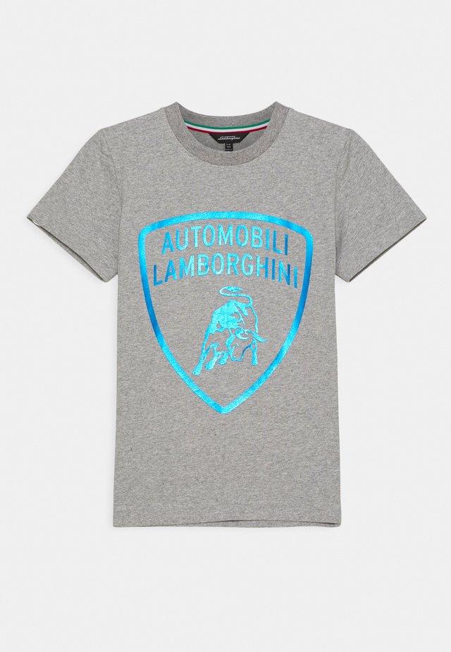 SHIELD - T-shirts med print - grey antares