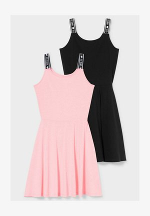 2 PACK - Day dress - black
