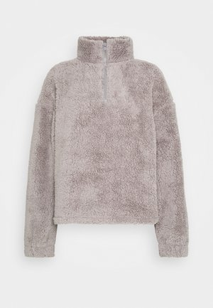HALF ZIP - Fleece jumper - gray