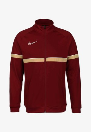 ACADEMY - Training jacket - team red / white / jersey gold
