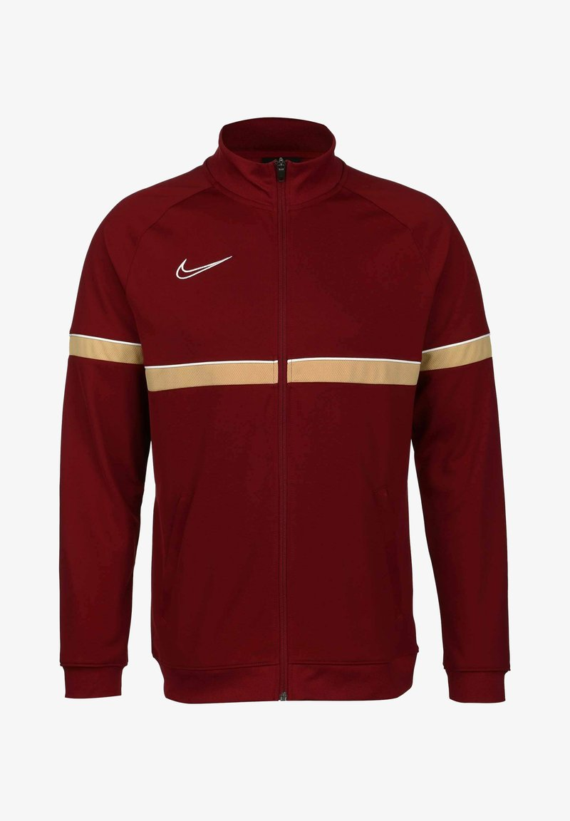 Nike Performance - ACADEMY - Träningsjacka - team red / white / jersey gold
