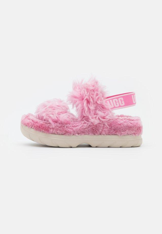 FLUFF SUGAR  - Plateausandalette - pink