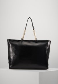 Versace Jeans Couture - ROUND BUTTON PATENT - Shopping bag - nero - 2