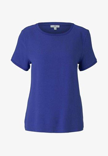 T-shirt basique - anemone blue