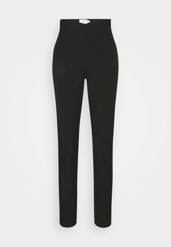 MATHILDE GØHLER V SHAPED WAIST STRAIGHT PANTS