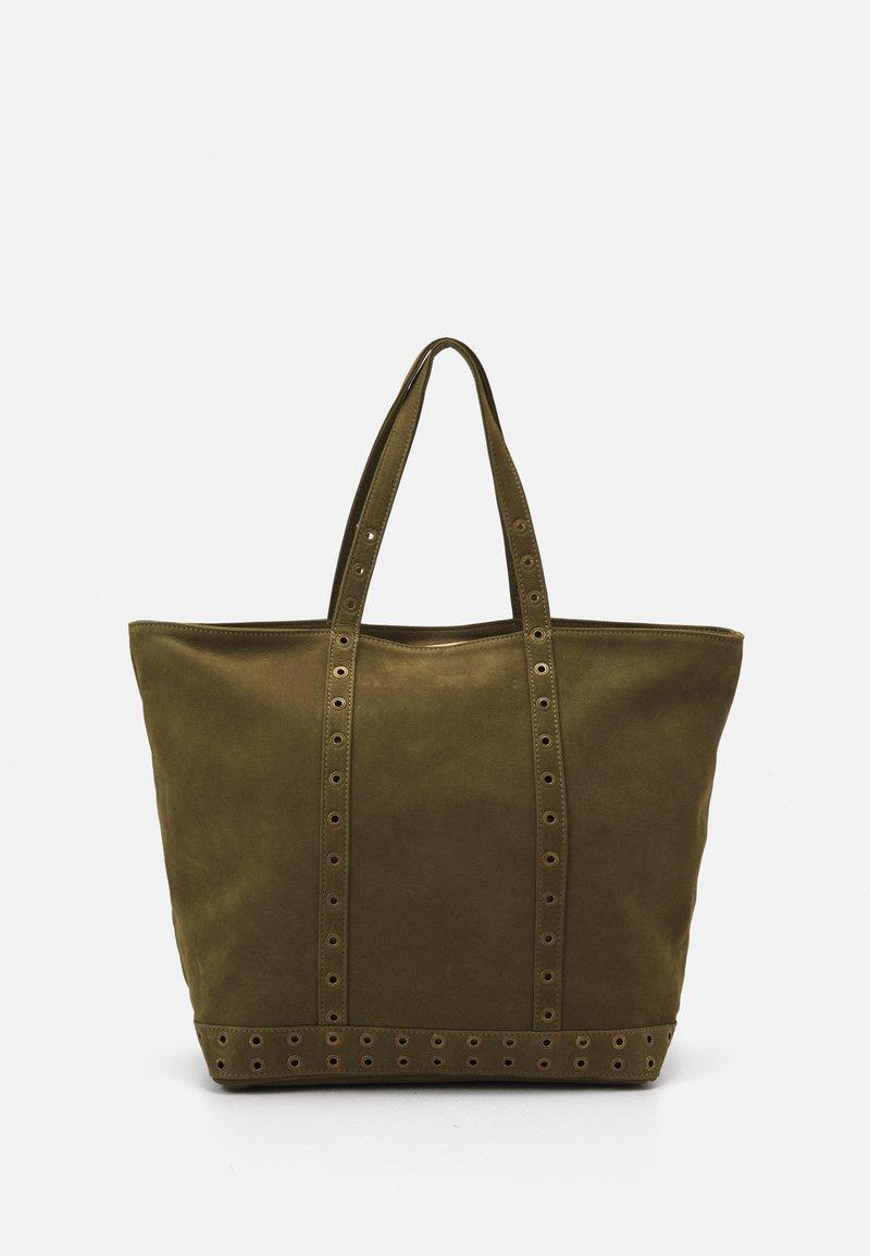 Vanessa Bruno - CABAS MOY ZIPPE - Shopping bag - olive