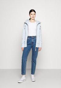 Ragwear - NESKA ZIP - Zip-up hoodie - cloud - 1