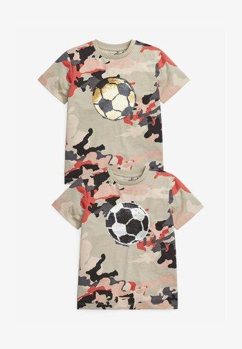 2-PACK - Print T-shirt - multi-coloured