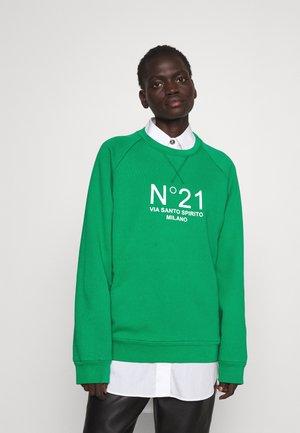 FELPA - Sweatshirt - verde smeraldo