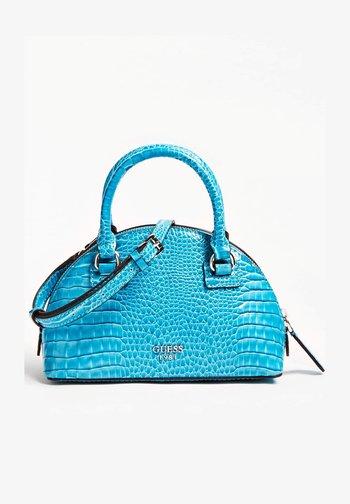 SAC A MAIN SHILAH CROCO - Torebka - turquoise