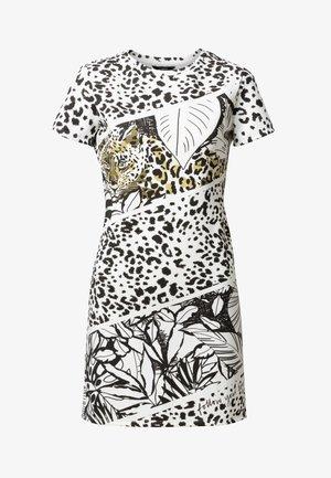 BE WILD - Shift dress - white