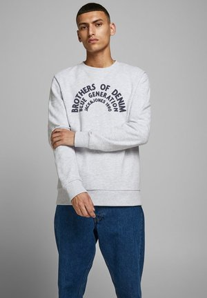 LOOPBACK LOGO - Sweatshirt - white melange