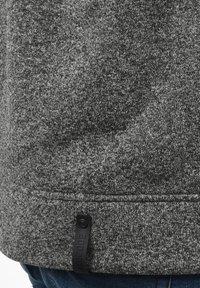 INDICODE JEANS - CHILLINGWORTH - Zip-up hoodie - mottled dark grey - 3