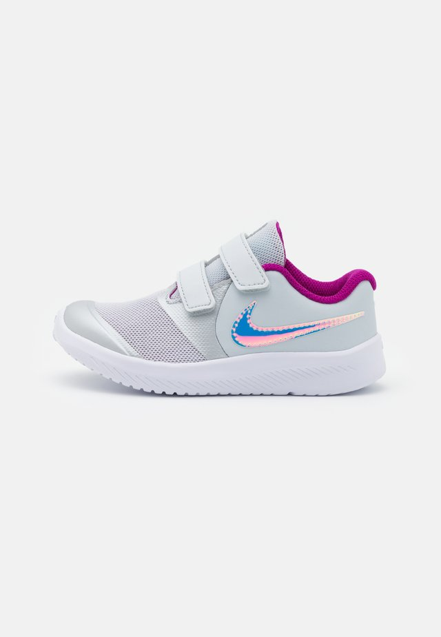 STAR RUNNER 2 POWER UNISEX - Obuwie do biegania treningowe - pure platinum/multicolor/barely volt/red plum/white