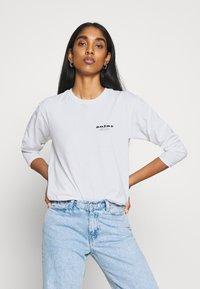 Topshop - SUN SOLAR SKATER - Long sleeved top - white - 3