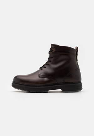 BOOT - Schnürstiefelette - dark brown