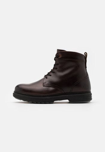 BOOT - Lace-up ankle boots - dark brown