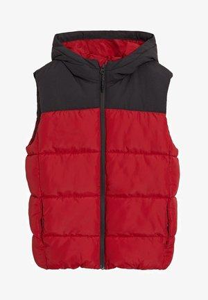 BODYWARMER MET CAPUCHON AMERICV7 - Waistcoat - rood