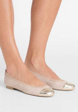 AMI ANGELIS - Ballet pumps - tan