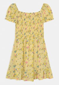 Marks & Spencer London - SHIRRED FLORAL - Day dress - yellow - 1